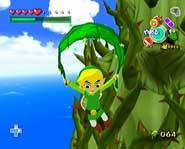 Use this game cheat to get the Iron Boots, Master Sword and Triforce of Courage in The Legend of Zelda: The Wind Waker for the Nintendo Gamecube!