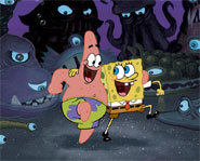 Patrick and SpongeBob star in The SpongeBob SquarePants Movie.