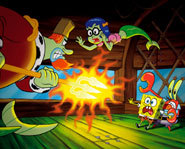 Picture of a scene from The SpongeBob SquarePants Movie.