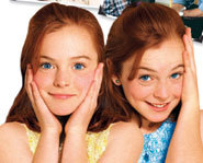 Lindsay Lohan stars in the Disney remake of The Parent Trap.