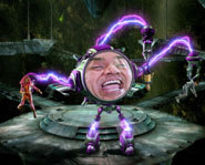 George Lopez stars as an evil school teacher in The Adventures of Shark Boy and Lava Girl.