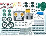 The Vex Robotics starter kit includes over 500 parts for building your own robot.