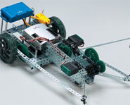 Build your own robot with the Vex Robotics starter kit.
