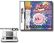 We review the new Kirby: Canvas Curse video game for the Nintendo DS handheld!