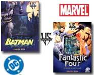 We review the Batman and Fantastic Four card game starter decks for new players!