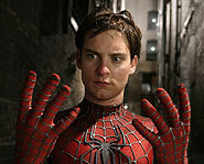 Tobey Maguire plays Spider-Man in the 2002 and 2004 movies.