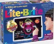 Win a trip to New York and be the Lite-Brite Artist of the Year.