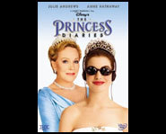 Anne Hathaway and Julie Andrews star in The Princess Diaries.