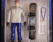 Picture of the Ross Powers action sports Huck Doll.