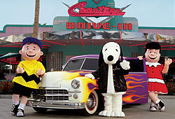 Meet the Peanuts gang at Knott's Berry Farm.
