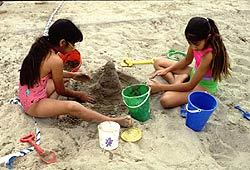 Learn to build your own sand castles this summer.