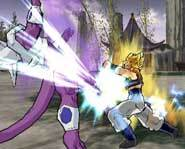 Lay some KAMEHAMEHA smackdown with the super saiyan warriors from the Dragon Ball Z video games and TV Show!