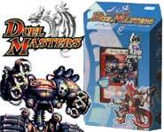 The Duel Masters collectible trading card game from Wizards of the Coast lets you duel against your friends with summoned monsters!