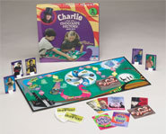 Picture of the Charlie and the Chocolate Factory family board game.