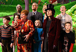 Be sure to check out Johnny Depp in Charlie and the Chocolate Factory.