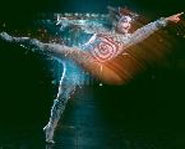 A circus acrobat performs with Cirque du Soleil's show, Quidam.