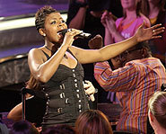 Fantasia Barrino was crowned the third American Idol on May 26, 2004. She beat out fellow American Idol hopeful Diana DeGarmo.