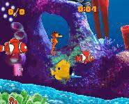 Disney/Pixar's Finding Nemo videogame for the Nintendo Gameboy Advance is all about excitement and adventure!