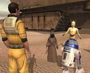 Feel The Force with Star Wars Galaxies - a massively multiplayer online role playing game that lets you become a wookie, a jedi and more!