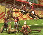 Harry Potter Quidditch World Cup for the Playstation 2, Gamecube, Xbox and PC lets you challenge your friends at home or online!