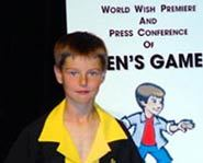 Ben made his own free downloadable video game with a little help from Eric Johnson and the Make-a-Wish Foundation.