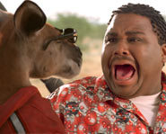 Anthony Anderson stars with Estella Warren and Jerry O'Connell in Kangaroo Jack.
