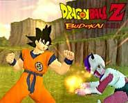 Battle as Goku against Vegeta, Frieza, Cell, the Androids and more in Dragon Ball Z: Budokai!