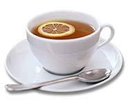 Sip on a cup of honey-lemon tea to soothe a sore throat.