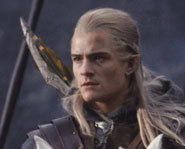 Legolas is played by the adorable and talented Orlando Bloom.