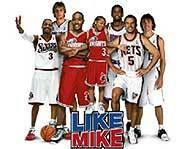 Bow Wow makes his acting debut in Like Mike.