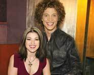 Justin Guarini and Kelly Clarkson: The American Idol Finalists.