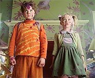 Check out Dakota Fanning and Spencer Breslin in the Dr. Seuss classic, The Cat in the Hat.