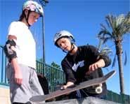 Mike Ogas teaches skateboarding tricks in Zero to Hero.