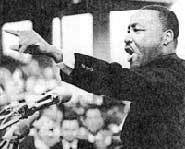 Martin Luther King Day is celebrated every third Monday in January.