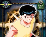 Battle demons with Yusuke and the Spirit Detectives in the Yu-Yu Hasuko Trading Card Game from Score!