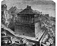 Mausoleum of Halicarnassus.