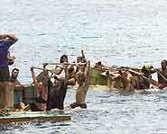 Survivor 4 - Survivor Marquesas, Reward Challenge.