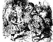 Alice at the Caucus-Race