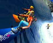 SSX Tricky for the PS2 is snowboarding madness!