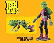 Collect the Teen Titan action figures and bring the action of the animated TV show home!