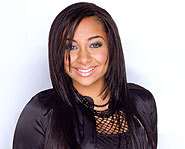 Rave-Symone stars in her own sitcom on Disney, That's so Raven.