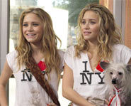 Mary-Kate and Ashley Olsen star in New York Minute with Jared Padelecki and Eugene Levy.