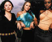 Keisha, Mutya and Heidi make up the Sugababes!
