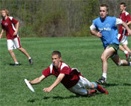 The rules of Ultimate Frisbee are simple to learn.