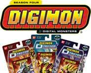 Digimon Season Four - Digital Monsters battle for their Digi-destined trainers!