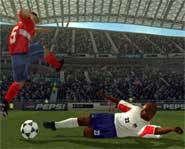 World Tour Soccer 2003 for the Playstation 2 is a great sports video game which will give gamers hours of playing pleasure.