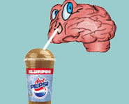 When you get brain freeze, your brain doesn't actually freeze.
