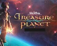 Walt Disney's Treasure Planet animated movie review - space adventure, pirates, loot, action, adventure and robots!
