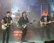 U2 performed Beautiful Day & Where the Streets Have No Name.