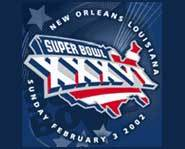 Super Bowl XXXVI will be played February 3rd in New Orleans.